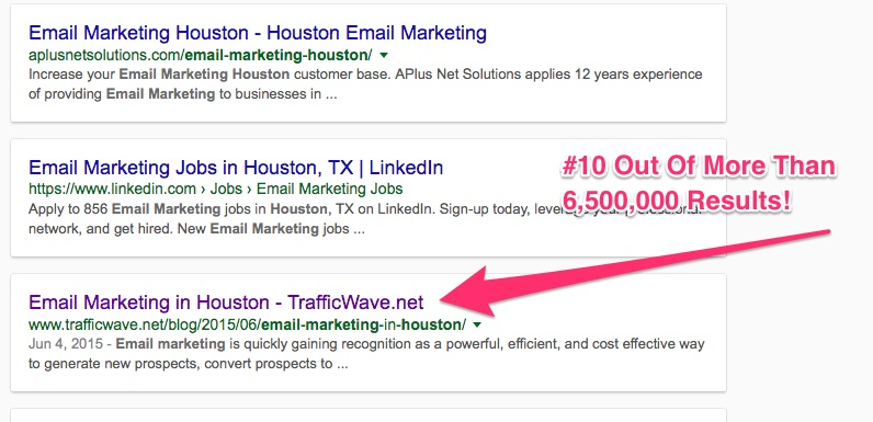 Houston Email Marketing